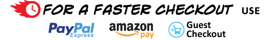 Fast Checkout with Paypal & Amazon