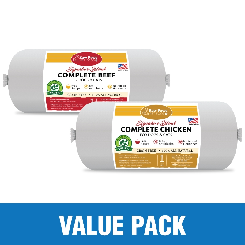 Complete Beef & Chicken Value Pack, 20 lbs