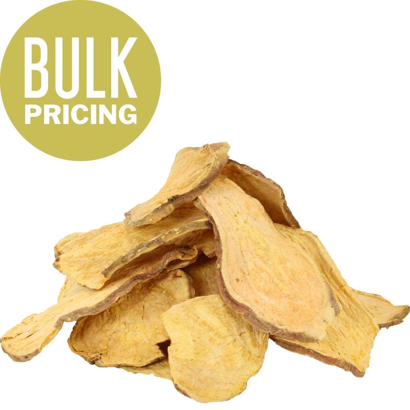 Raw Paws Gourmet Sweet Potato Chip Dog Treats, 10 Lbs (bulk)