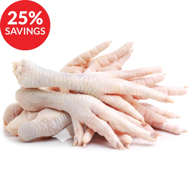 Chicken Feet for Dogs & Cats (Bundle Deal)