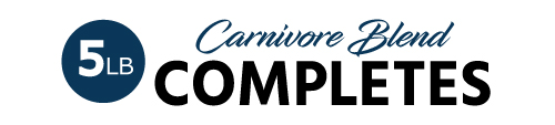 5lb Carnivore Blend Complete Pet Food