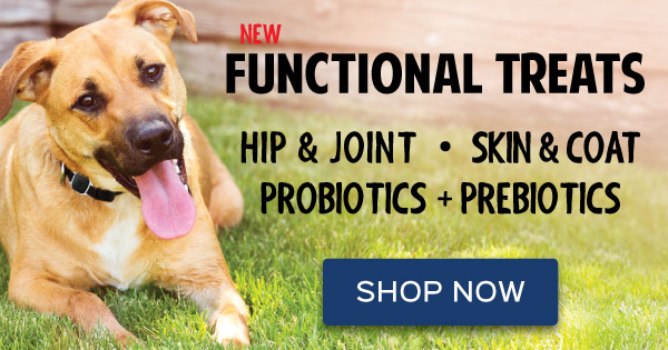 Functional Treats for Dogs & Cats