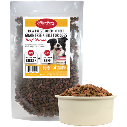 Freeze Dried Infused Kibble for Dogs