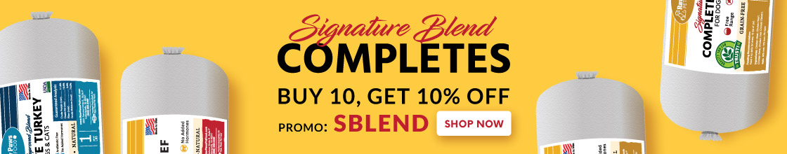 Signature Blend Pet Food for Dogs & Cats
