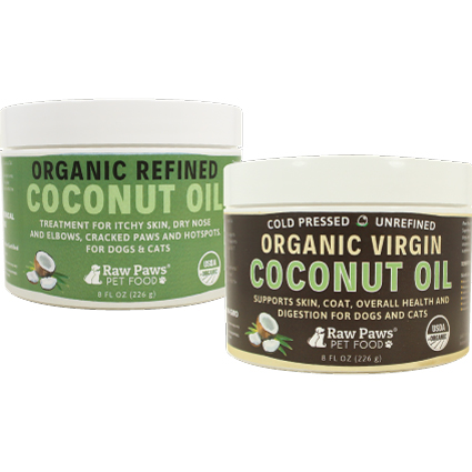 Coconut Oil for Dogs & Cats