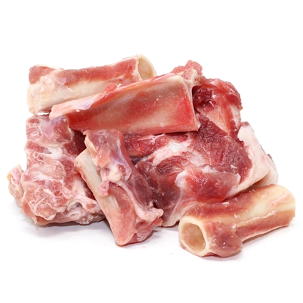 Meaty Goat Bones For Dogs 2 Lbs Raw Paws Pet
