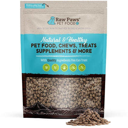 Raw Paws Premium Grain Free Beef Formula Kibble For Dogs