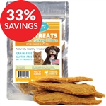 Raw Paws Soft Duck & Turkey Fillet Treats for Dogs & Cats (Bundle Deal) - $29.99