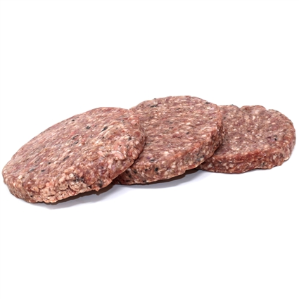 Signature Blend Complete Beef & Tripe Patties for Dogs & Cats, 8 oz - 10 ct